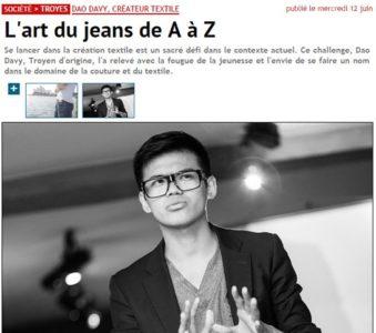 Article paru dans l'Hebdo du Vendredi – 06/2013