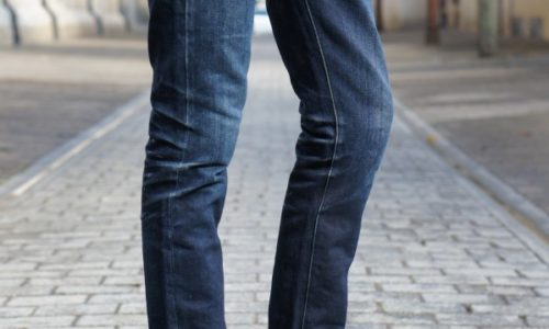 DAO jeans selvedge 16.oz 3/4 avant