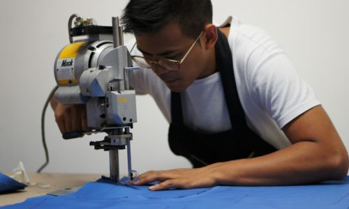 Fabrication jeans francais DAO