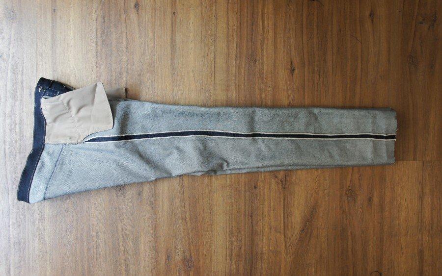 L'intérieur d'un jeans selvedge