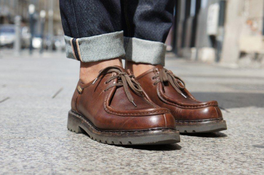 Entretenir chaussure cuir fin