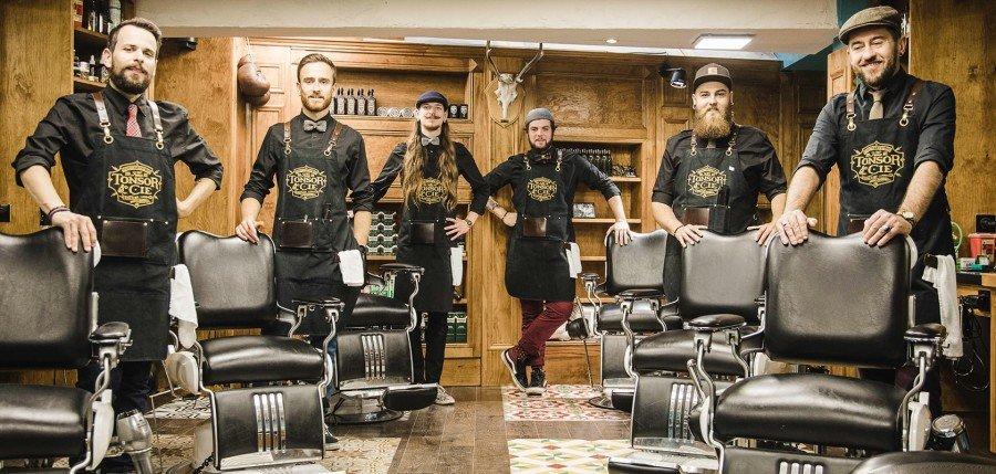 Tonsor & Cie et ses fameux barbiers, à Toulouse © Tonsor & Cie
