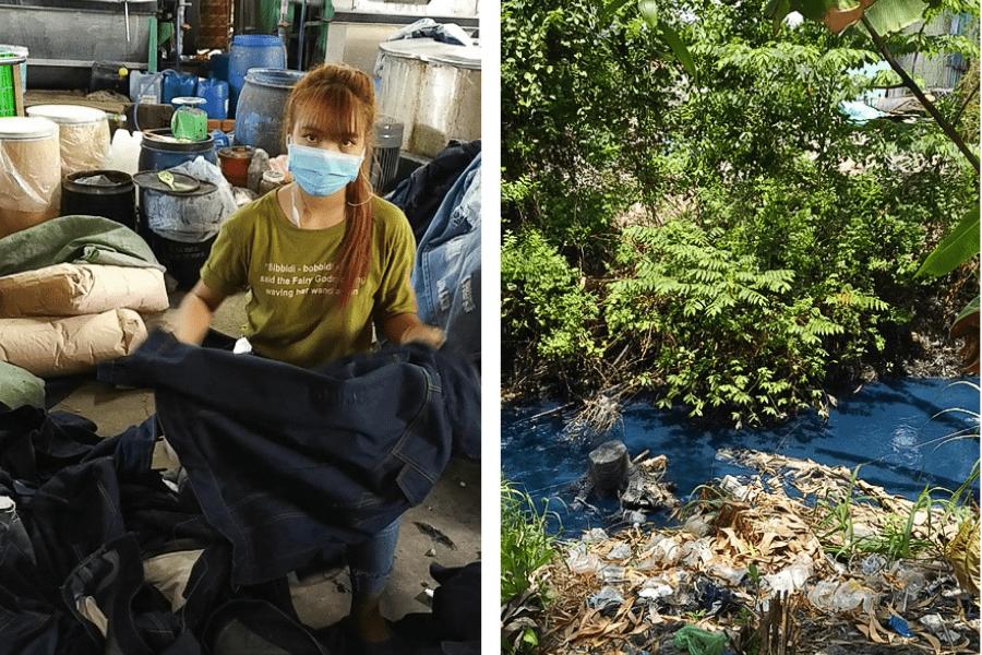 Découverte d'une usine de fabrication de jeans au Viêt-Nam
